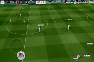 FTS 2019 Mod FIFA 19 v1 by FTSMod Apk Data+Obb Download