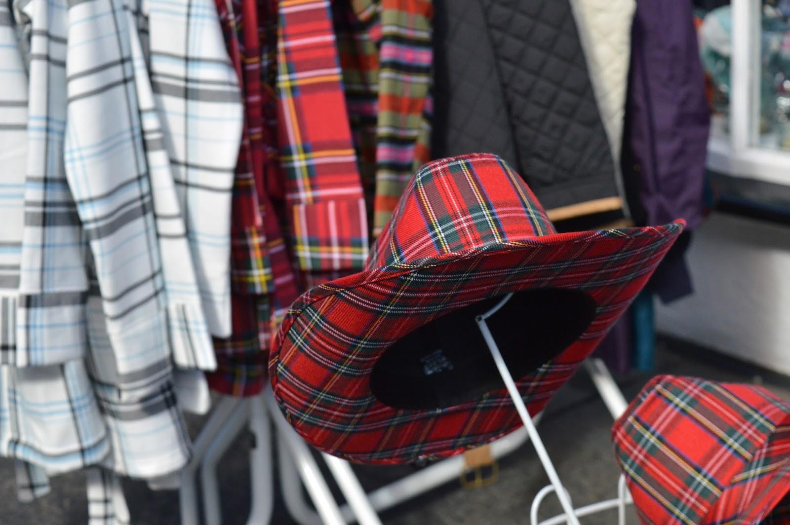 Tartan Hat Edinburgh