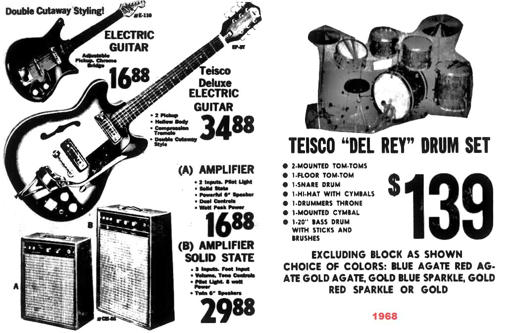 teisco guitars and check mate amplifiers in nc