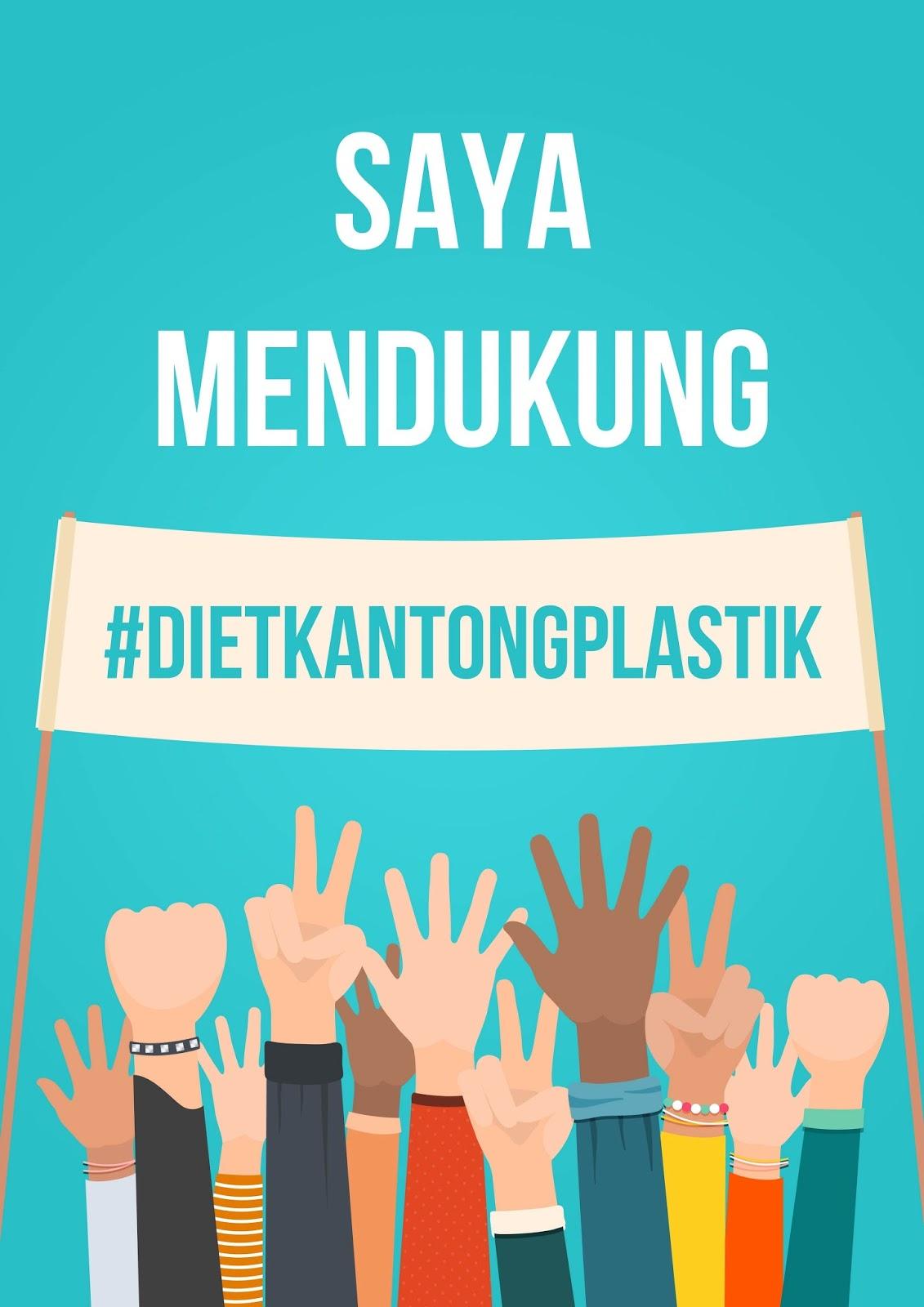 PROMOSI KAMPANYE DIET KANTONG PLASTIK OLEH GREENERATION INDONESIA