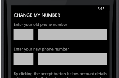 Change current Whatsapp number