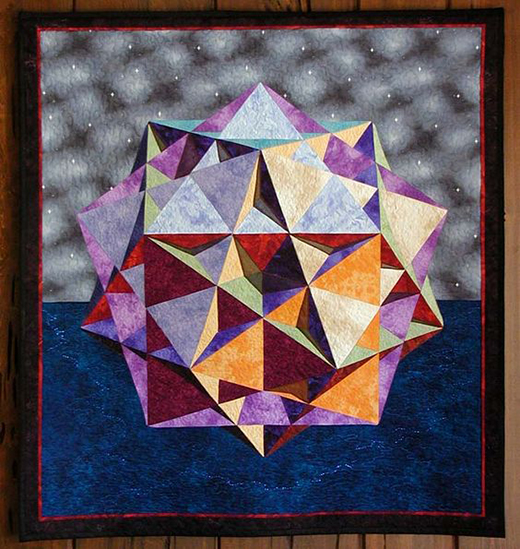 Piece of Hyperspace Quilt Free Pattern