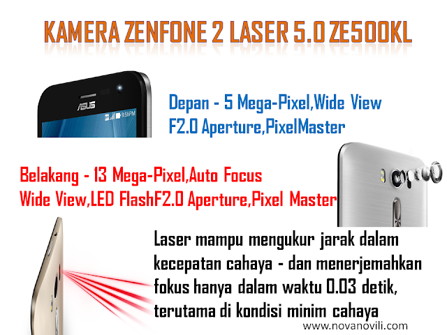 ASUS ZENFONE 2 LASER 5.00 ZE500KL