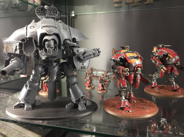 Comparativa Imperial Knight - Armiger Warglaive