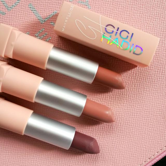 Review: Maybelline x Gigi Hadid East Coast Lip Kits