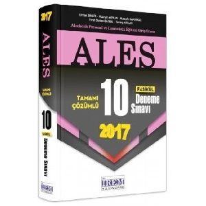 İrem Yayıncılık ALES Tamamı Çözümlü 10 Fasikül Deneme Sınavı (2017)