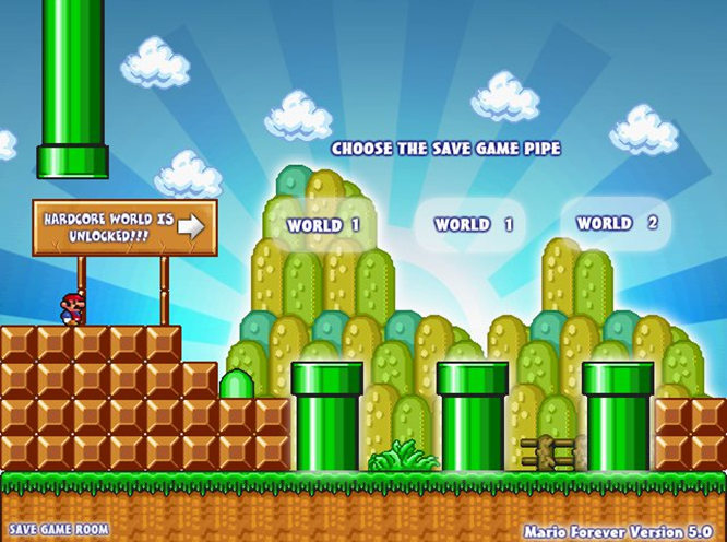 download super mario forever