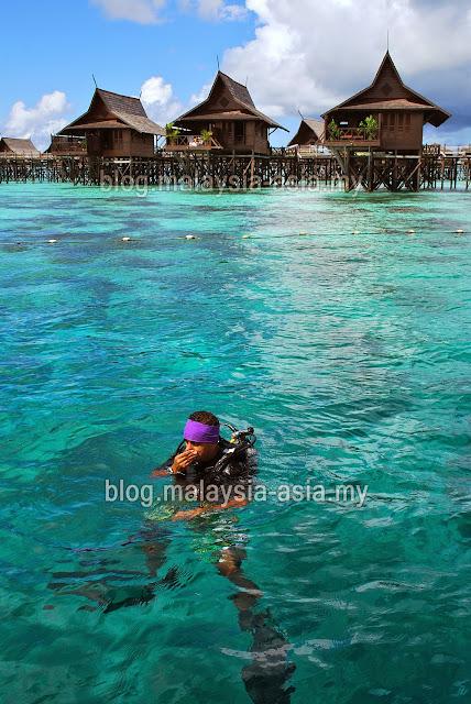 Kapalai Island Scuba Diving