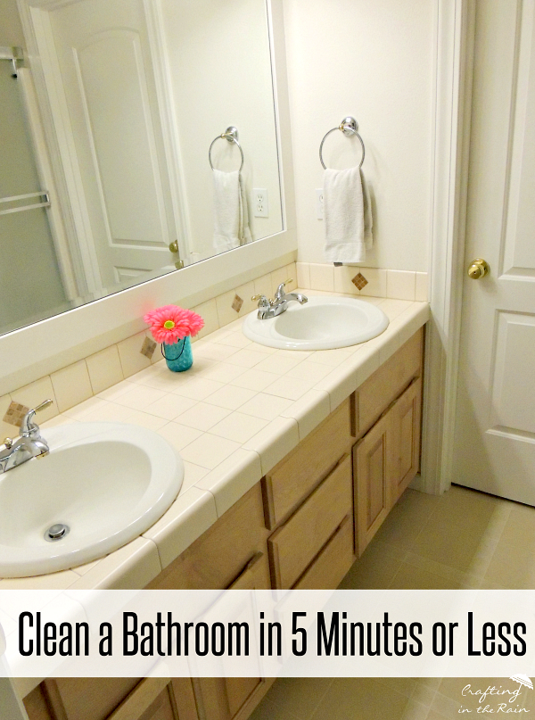 Get Kids To Clean The Bathroom Crafting In The Rain - How to clean bathroom mirror