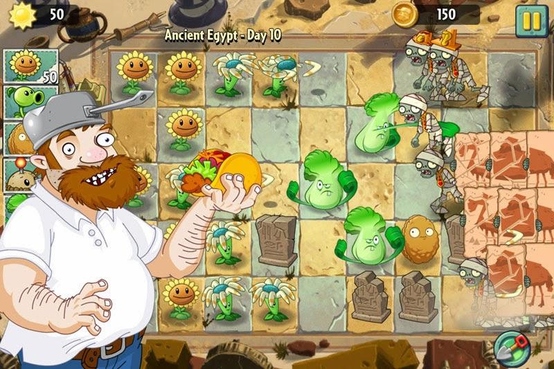 apk zombie plants 2