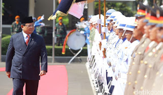 Menteri Pertahanan RI periode 2019-2024