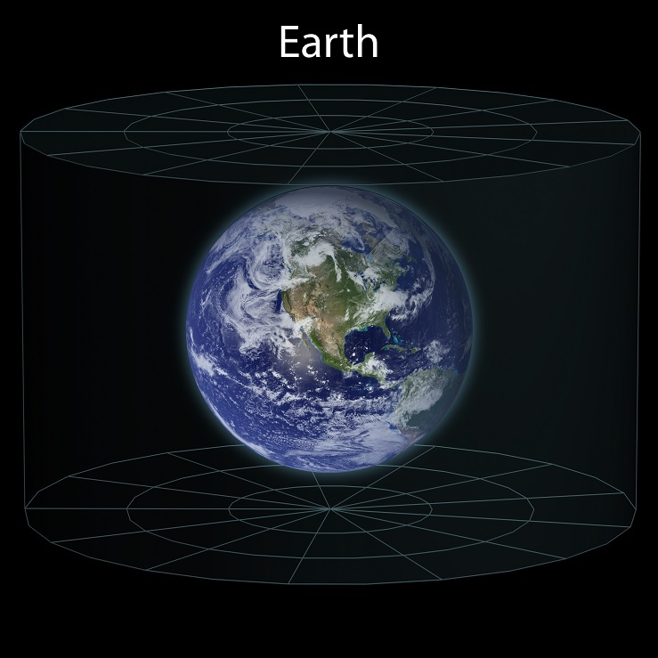 earth location in the universe