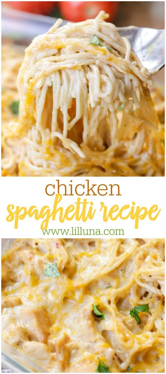 Chicken Spaghetti Recipe