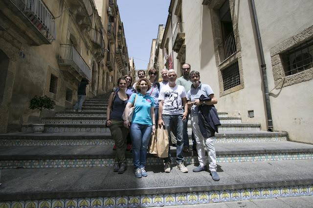 Azienda Branciforti-Ceramiche di Caltagirone-Foto di gruppo