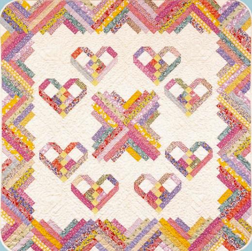 Heartstrings Quilt Free Pattern