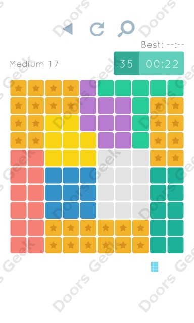Cheats, Walkthrough for Blocks and Shapes Medium Level 17