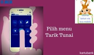 Gambar 2 - 10 Langkah Mudah Cara Tarik Tunai di ATM dengan BCA Mobile
