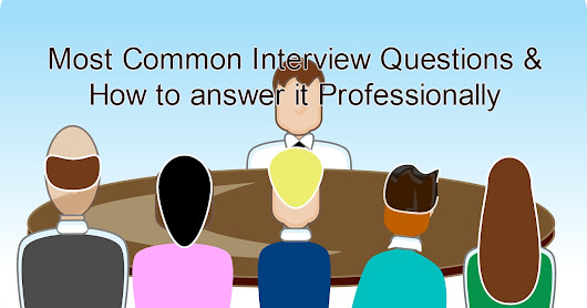 Most Common Interview Questions for Freshers: