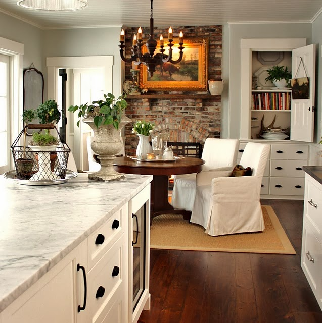 Stone Fireplace With Cabinets: Susan Sutherlin: 10 Of The
