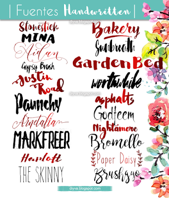 Handwritten, fonts, fuentes, 2016, free, download, gratis