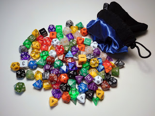 Easy Dice Roller Co. 105 piece dice set