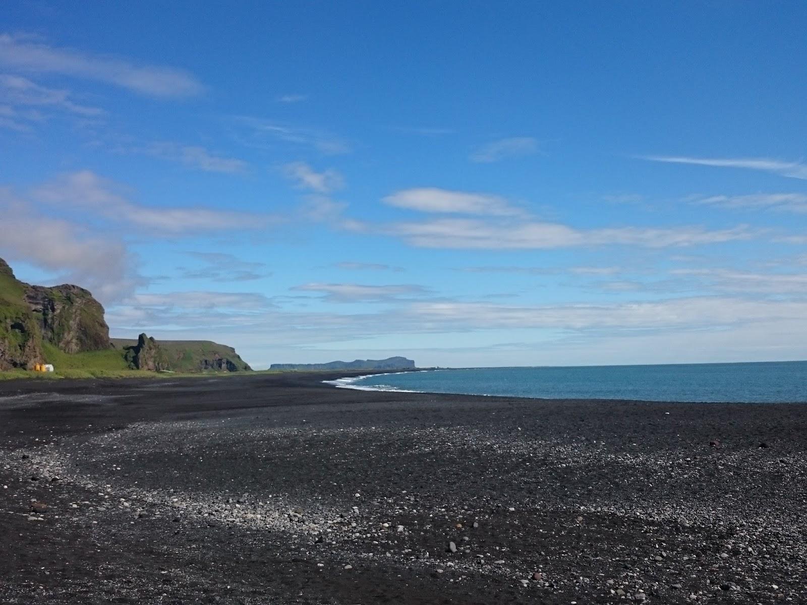 czarna plaża, Islandia, islandzki krajobraz