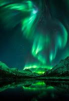 Aurora over Olderdalen