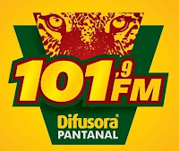 Rádio Difusora Pantanal FM 101.9 de Campo Grande M