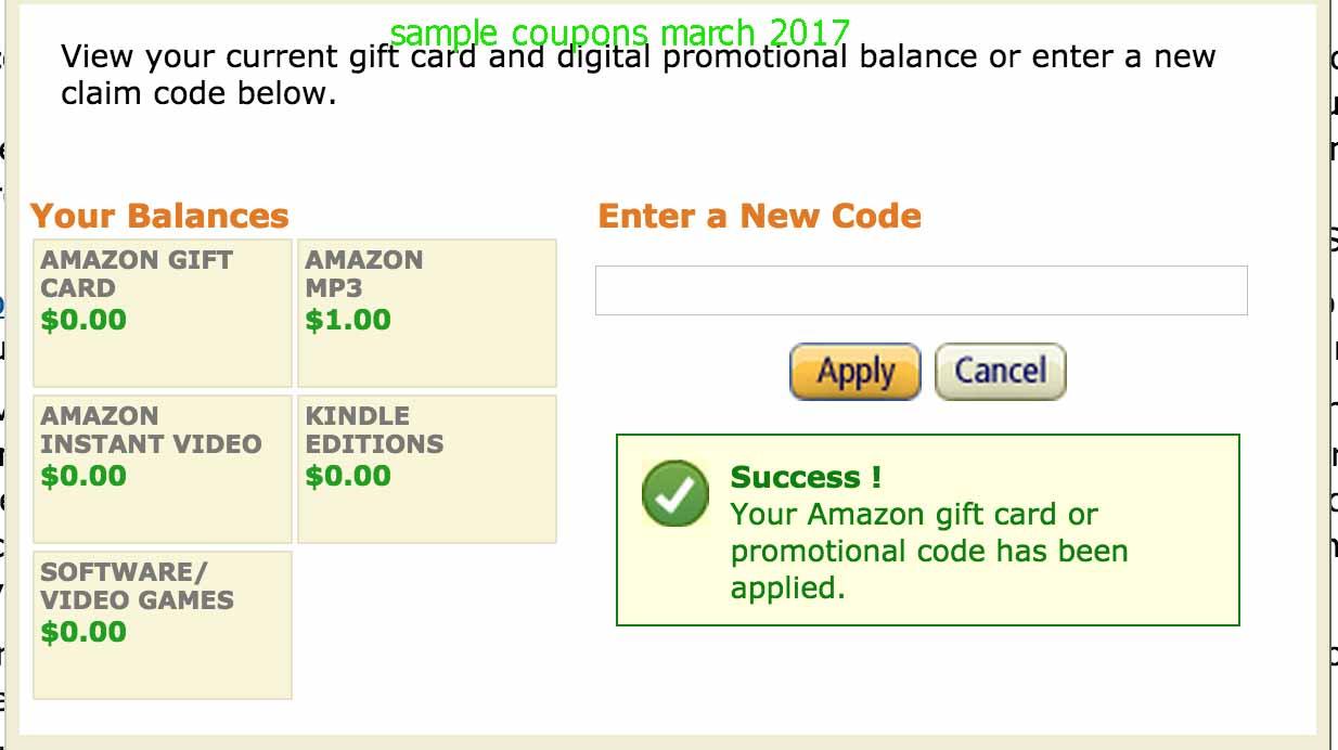 Amazon coupon 2018 july