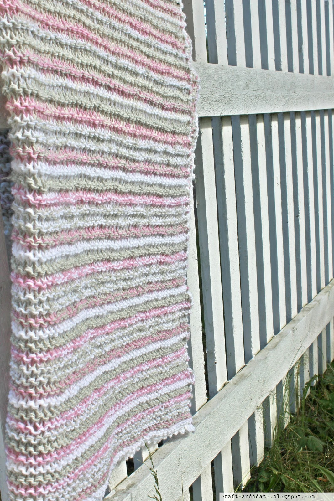 easy, quick, knitted, afghan, throw, blanket, pattern