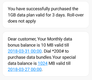 Get 1gb data for N200 on etisalat/9mobile
