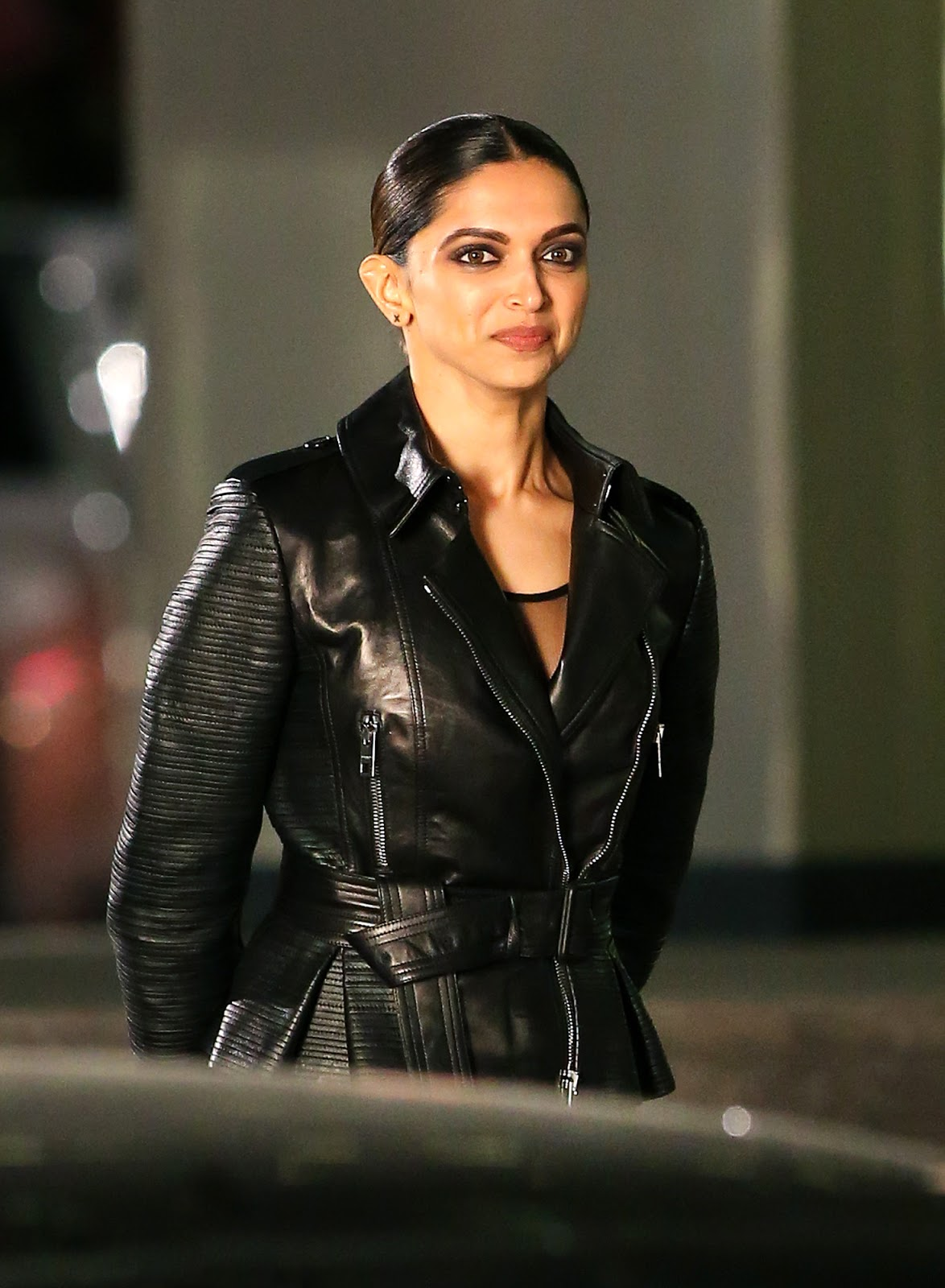 High Quality Bollywood Celebrity Pictures Deepika Padukone Looks Gorgeous On The Sets Of Xxx -9345