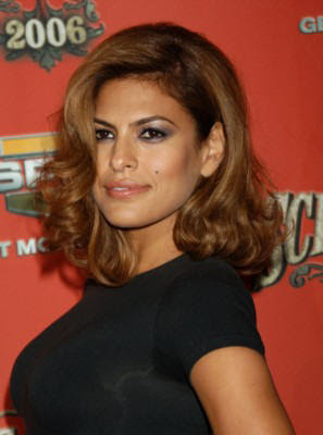 windy hairstyle eva mendes hairstyles