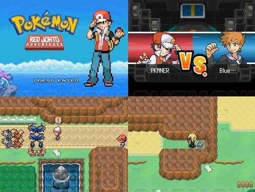 Pokemon Red Johto Adventures