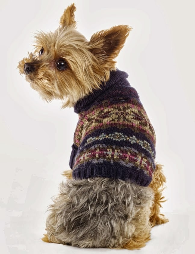 Ralph Lauren 'The Dog Walk' Accessories and Dog Clothing Fall/Winter 2013