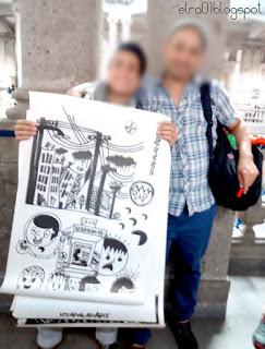 artistas urbanos en la presentación del libro