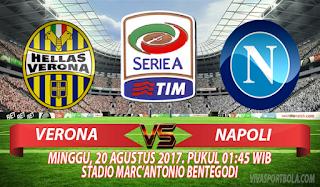 Prediksi Verona vs Napoli 20 Agustus 2017