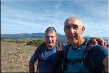 Peña La Llana mendiaren gailurra 887 m. - 2018ko abuztuaren 26an
