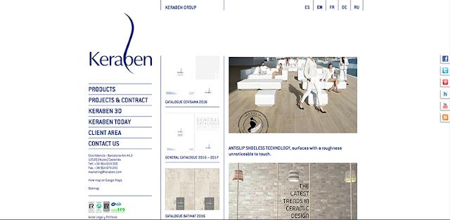 Keraben página web