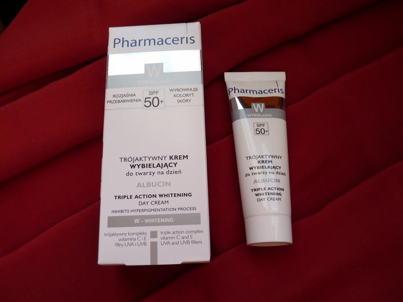 Pharmaceris W Dermo-ochronny Krem Wybielający Przebarwienia na dzień MELACYD SPF50+