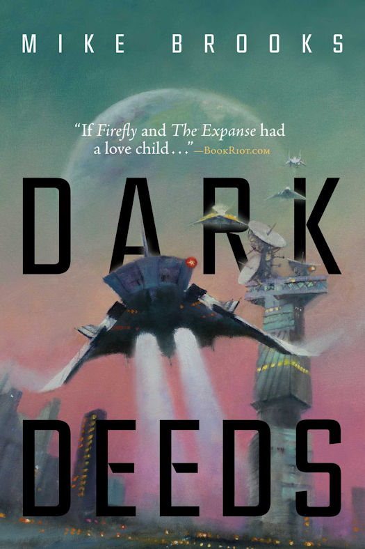 Review: Dark Sky and Dark Deeds by Mike Brooks