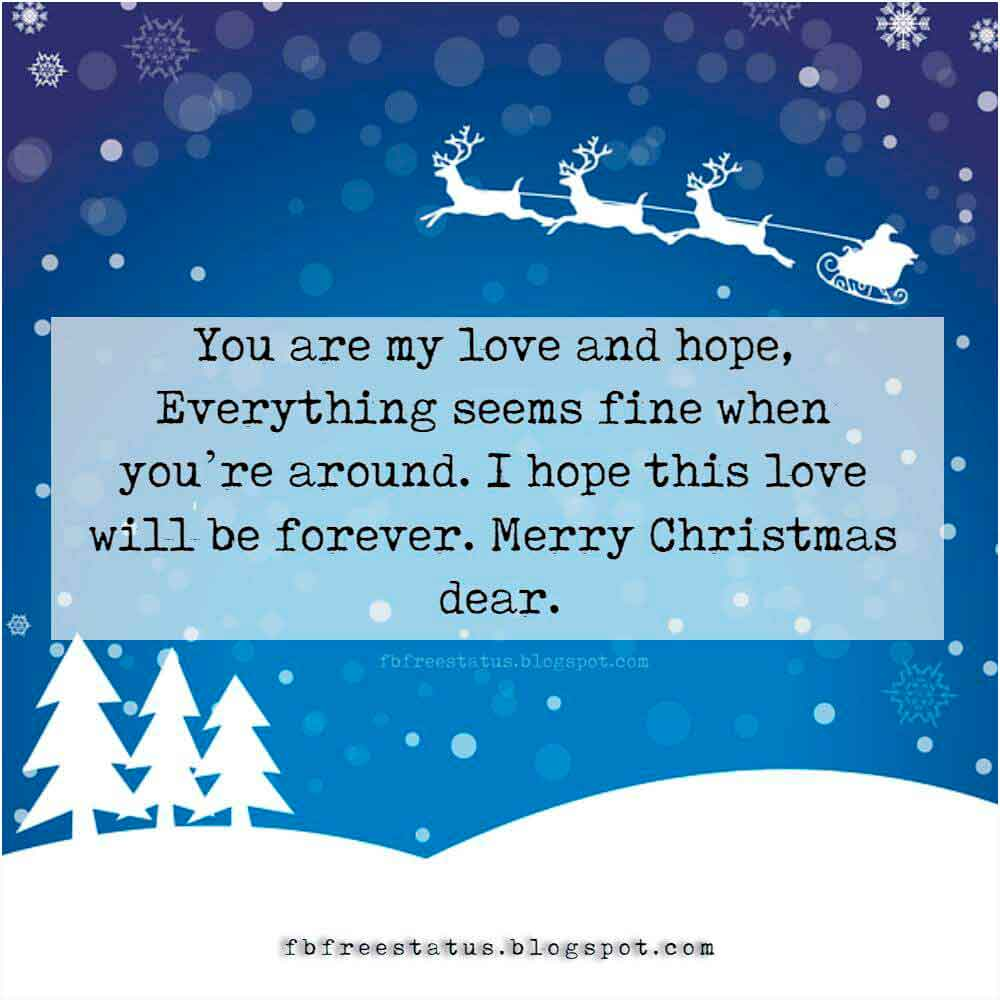 Christmas messages to boyfriend girlfriend wife husband merry christmas cards messages to boyfriend girlfriend wife or husband kristyandbryce Choice Image