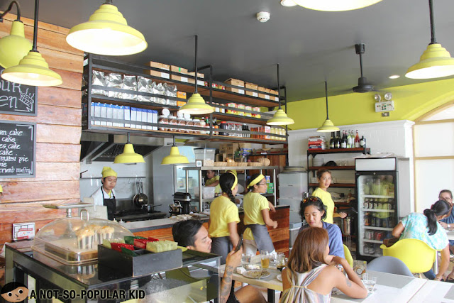 Interior of Sunny Side Cafe in Boracay Island, Philippines