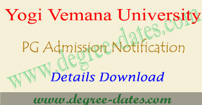 YVUCET 2019 notification online apply hall tickets results