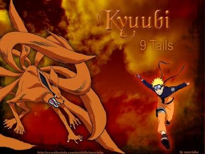 Naruto Kyubi Ekor 9