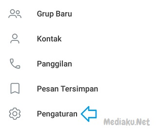 Membuat Status Di Telegram