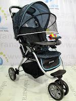 samping babydoes ch290 jogger roda 3 kereta dorong bayi