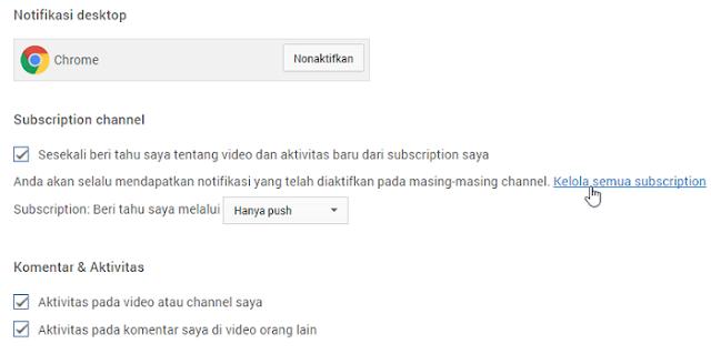 situs web untuk berbagi video yang paling terkenal di planet ini Cara Dapatkan Notifikasi Video Baru dari Channel YouTube