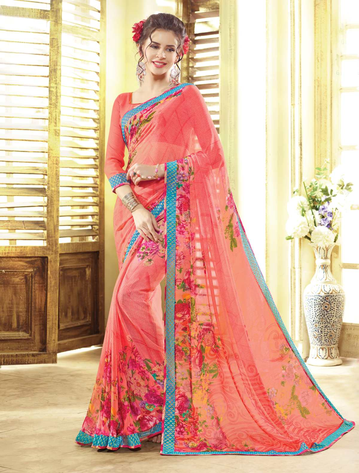 Heer 4 – Stylish And Best Quality Printed Saree Buy Online