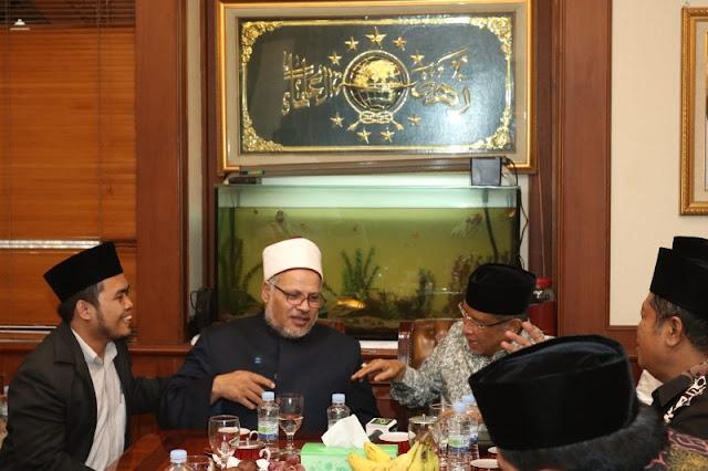 PBNU Terima Kunjungan Kehormatan Ulama Al-Azhar